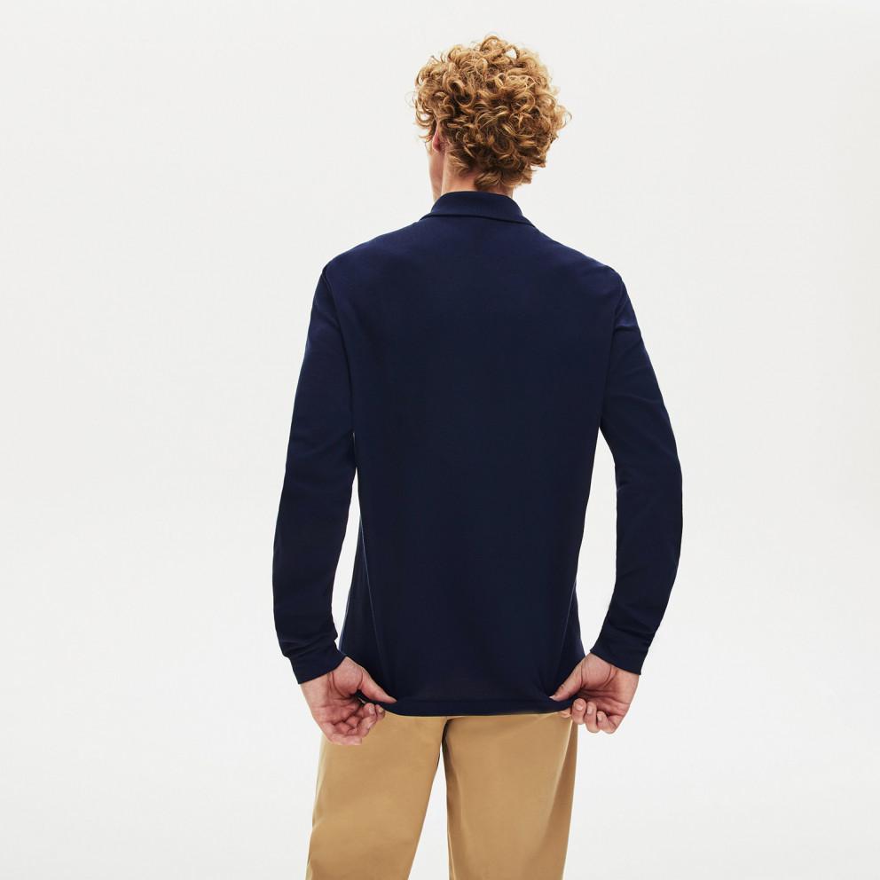 Lacoste Classic Fit L.12.12 Ανδρική Polo Μπλούζα με Μακρύ Μανίκι