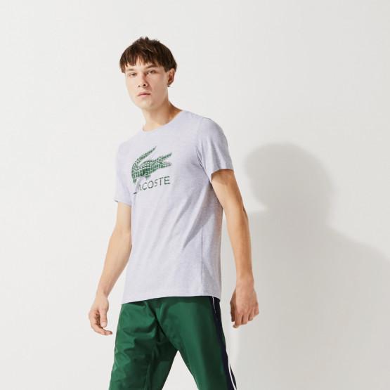Lacoste Crew Neck Cotton Ανδρική Μπλούζα