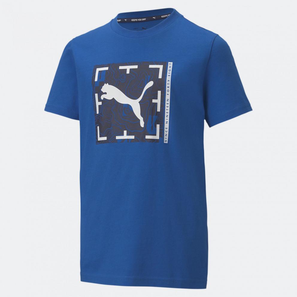 Puma Active Sports Graphic Ανδρικό T-Shirt