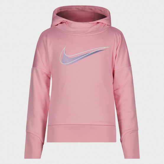 Nike Therma Παιδική Μπλούζα με Κουκούλα