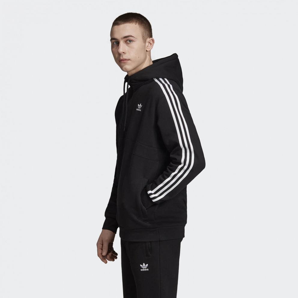 adidas Originals 3-Stripes Ανδρική Μπλούζα με Κουκούλα