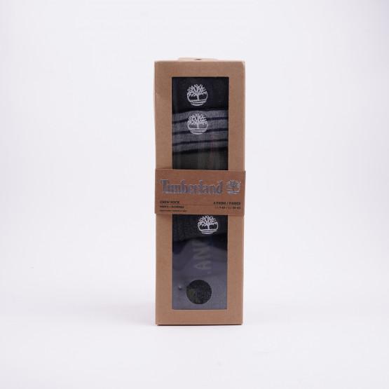 Timberland 6Pp Logo Stripe Mix Crew Gift Box