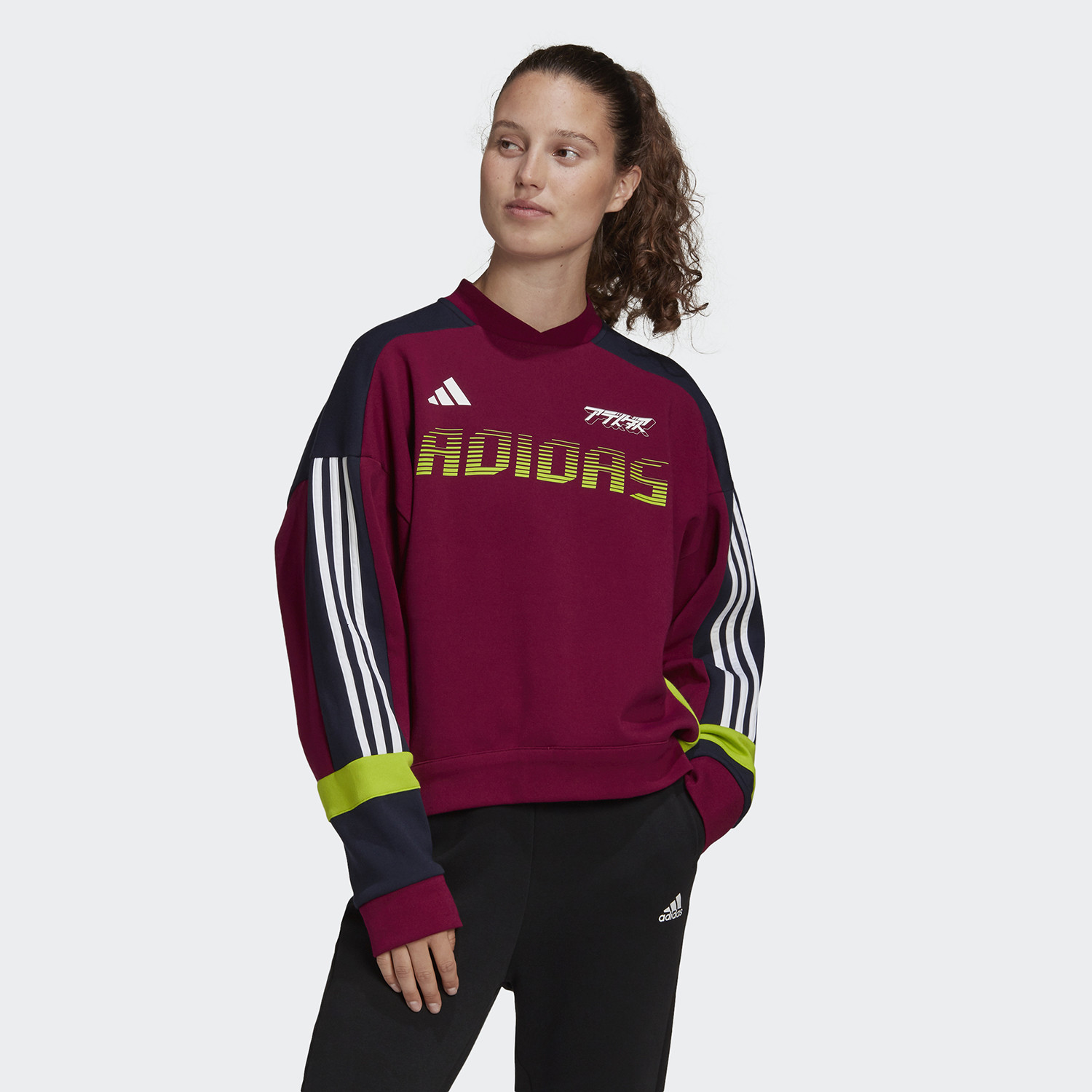 adidas Urban Colorblock Sweatshirt Γυναικεία Μπλούζα (9000060029_47777)