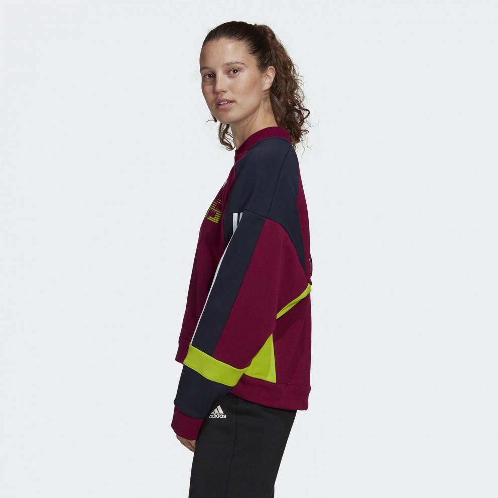 adidas Urban Colorblock Sweatshirt Γυναικεία Μπλούζα