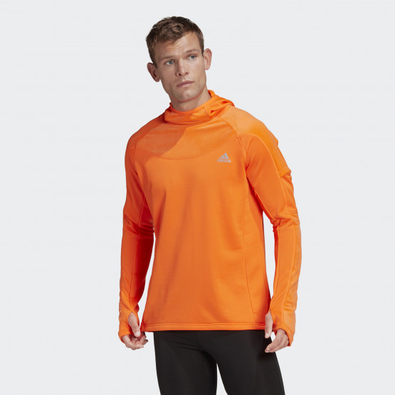 adidas Own the Run Warm Hoodie Men's Long Sleeve Hoodie