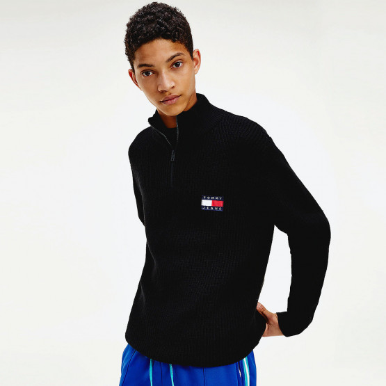 Tommy Jeans Badge Halfzip Sweater