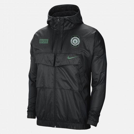 Nike NBA Celtics Courtside Men's Lightweight Jacket