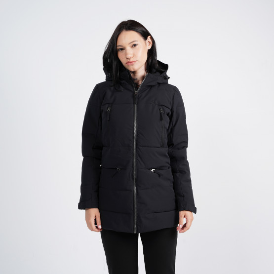 Emerson Women's Down Long Jacket With Hood