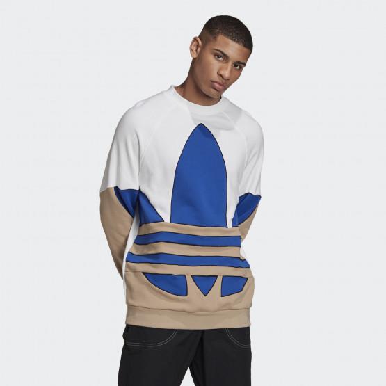 adidas Originals Big Trefoil Sweatshirt Ανδρική Μακρυμάνικη Μπλούζα