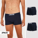 Levi's Solid Basic 2-Pack Men's Trunks