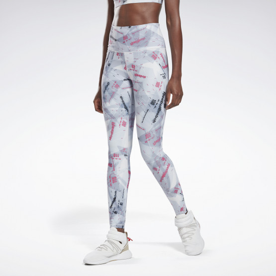 Reebok Sport Studio Lux Bold High-Rise Tights 2.0-Electricity Γυναικείο Κολάν