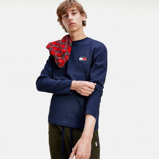 Tommy Jeans Badge Men's Long Sleeve Tee