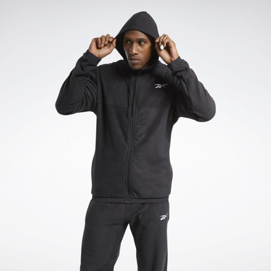 Reebok Sport Wor Fleece Fz Hoodie