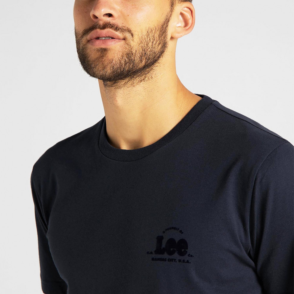Lee Tonal Flock Ανδρικό T-Shirt