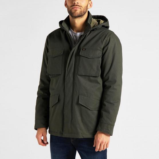 Lee Winter Field Jacket Serpico Green