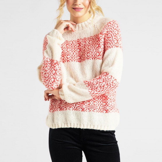 Lee Highneck Chunky Knit Γυναικείο Πλεκτό Πουλόβερ