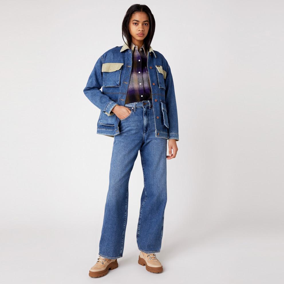 Wrangler Relaxed Mom Γυναικείο Jeans