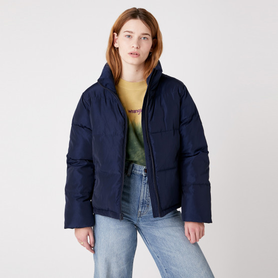 Wrangler New Short Puffer Women's Jacket
