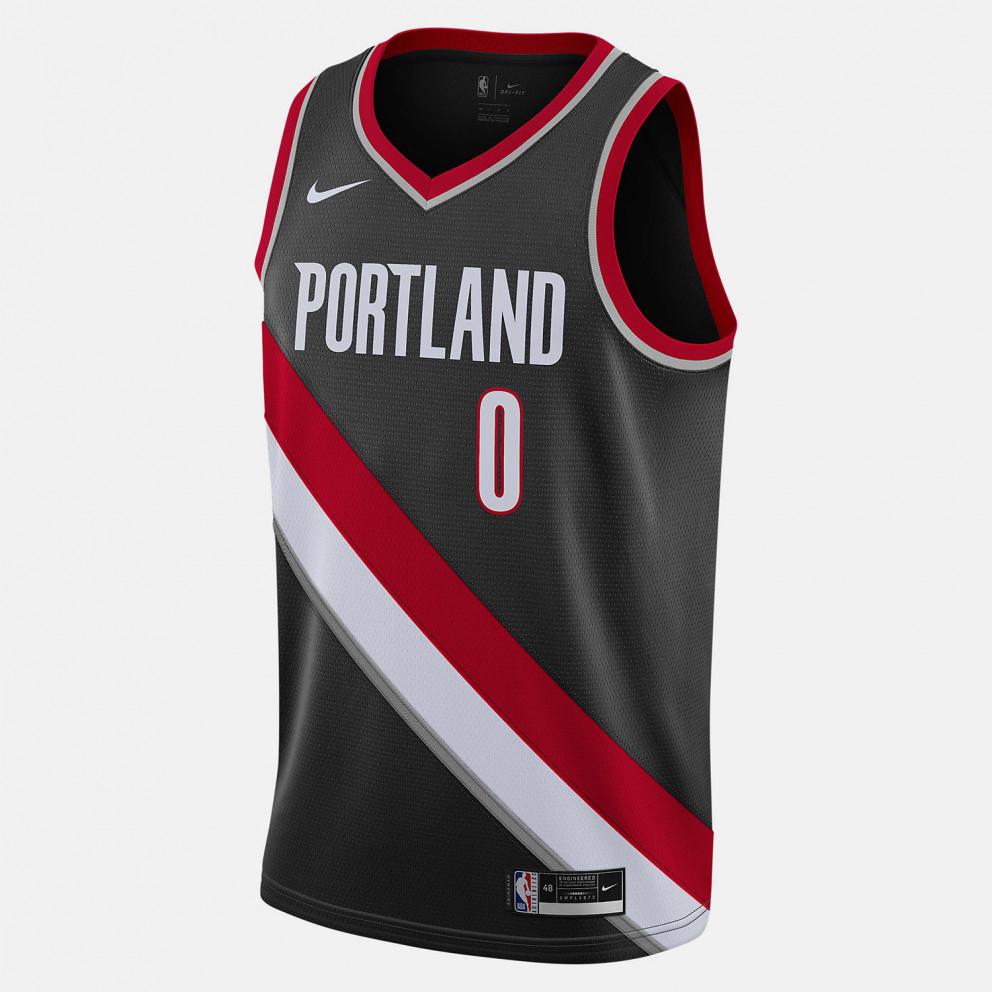 Nike NBA Damian Lillard Portland Trail Blazers Icon Edition 2020 Men's Jersey