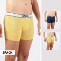Levi's Men's 2-Pack Vintage Heather Boxer Brief