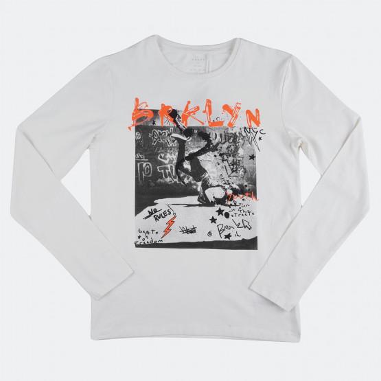 Name it Printed Παιδική Μπλούζα με Μακρύ Μανίκι