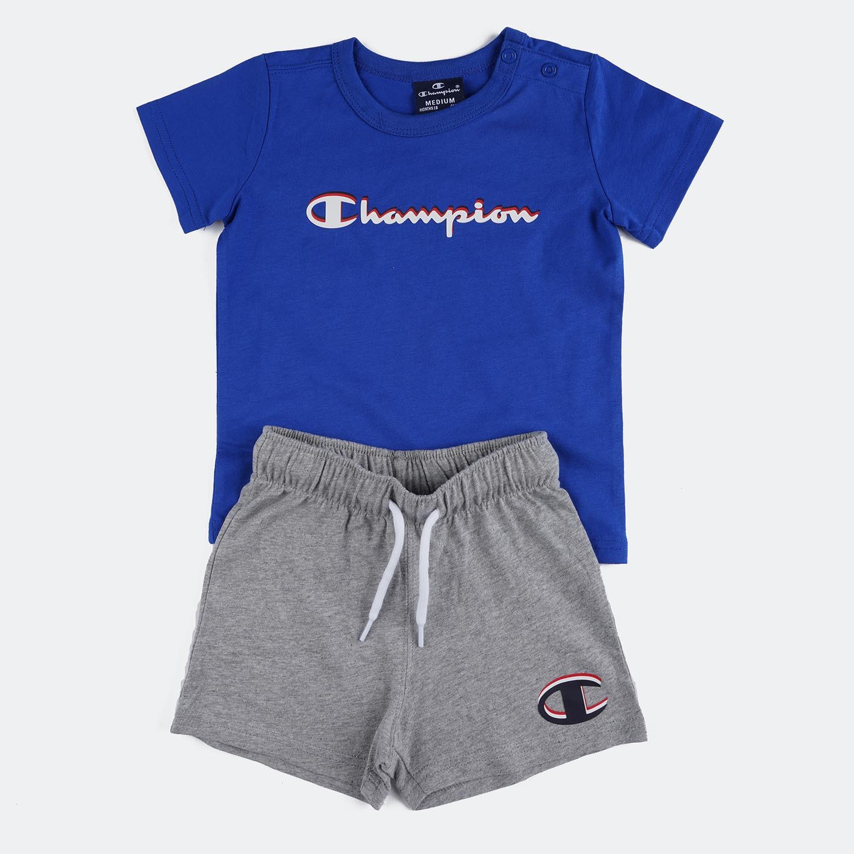 Champion Set Παιδικό Σετ Μπλούζα Σορτς (9000056809_35186)