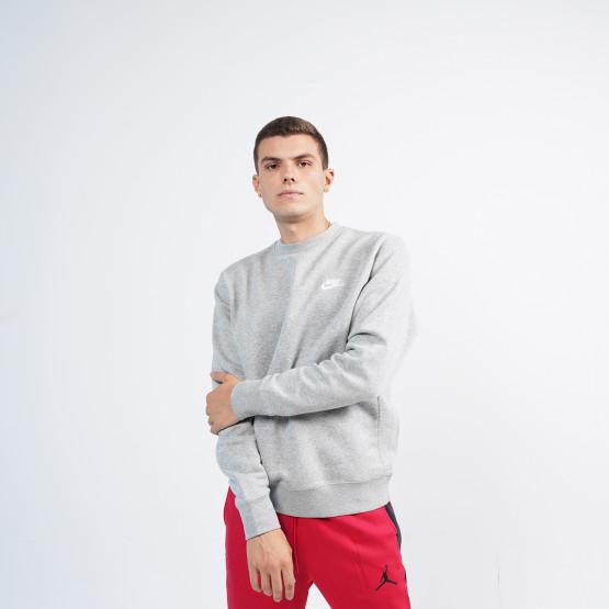 Nike Sportswear Club Ανδρική Μπλούζα Φούτερ