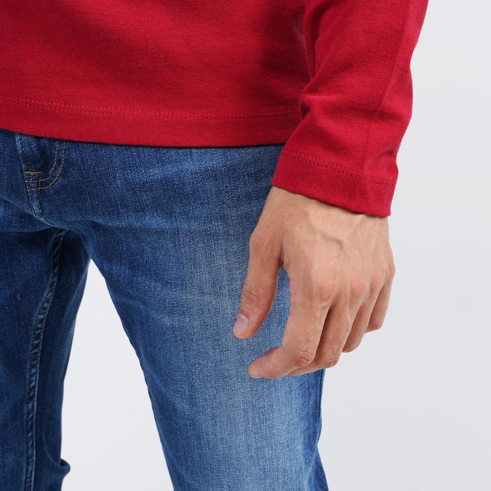 Tommy Jeans Badge Men's Long Sleeve Tee