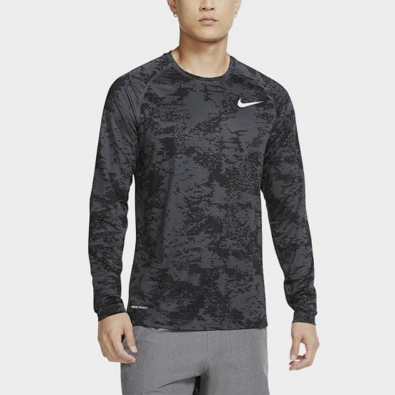Nike M Np Top Ls Slim Aop