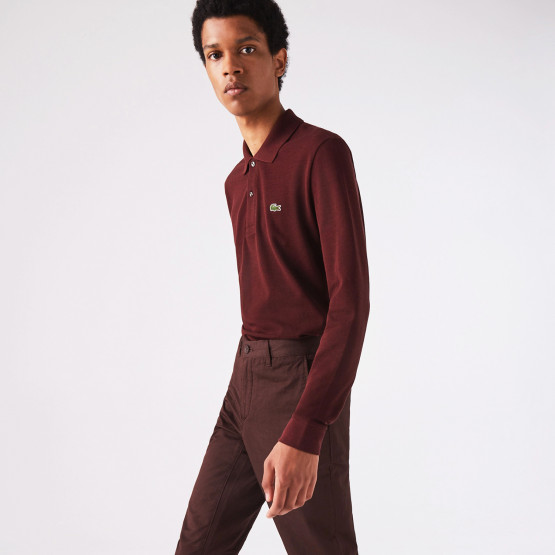 Lacoste Classic Fit Ανδρική Polo Μπλούζα με Μακρύ Μανίκι