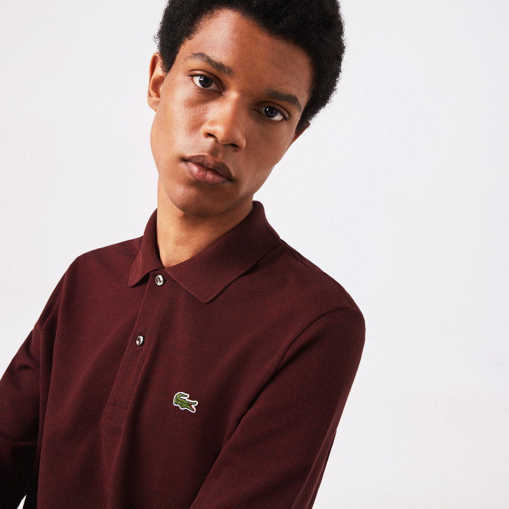 Lacoste Classic Fit Men's Long Sleeve Polo Shirt