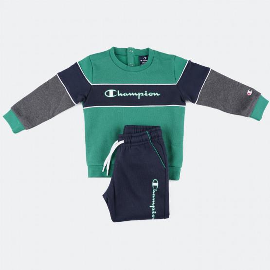 Champion Crewneck Suit Βρεφικό Σετ