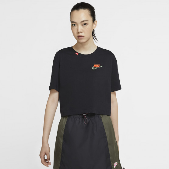 Nike W Nsw Tee Worldwide 2 Crop
