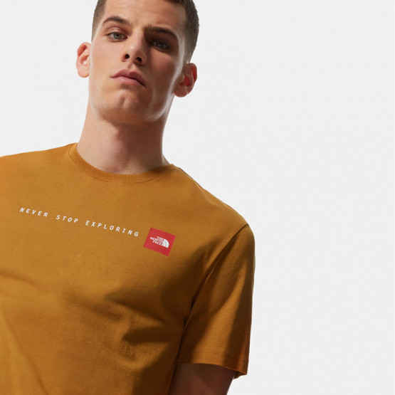 THE NORTH FACE M S/S Nse Tee Timber Tan