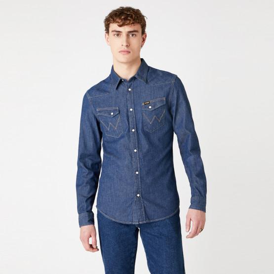 Wrangler Ls Western Men's Shirt