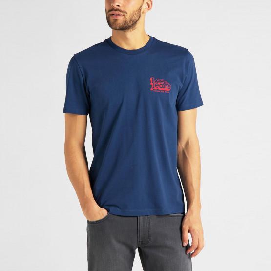 Lee 70s Logo Ανδρική Μπλούζα