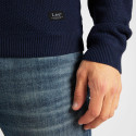 Lee Basic Textured Crew Men's Knitted Sweater