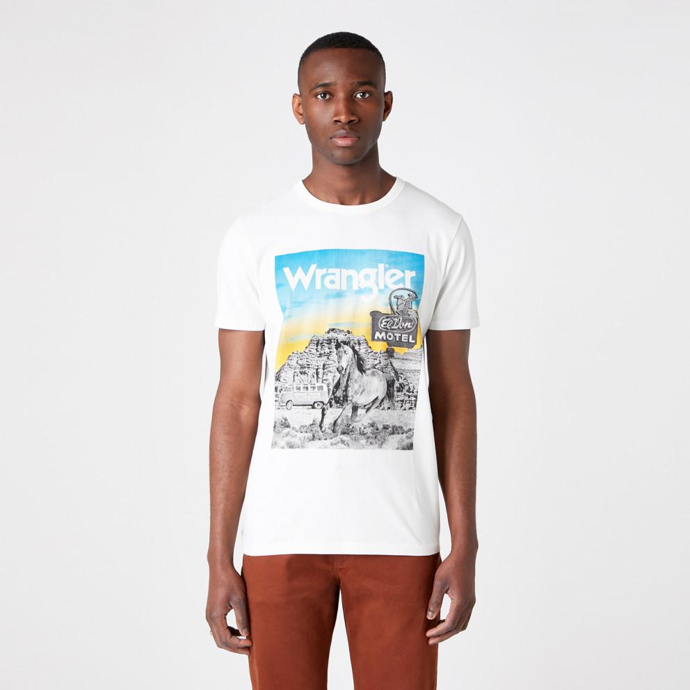 Wrangler Ss Photo Tee Off White
