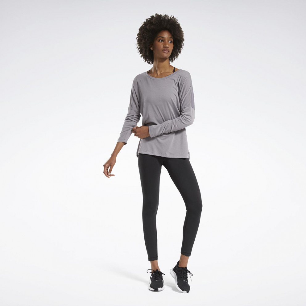 Reebok Sport Workout Ready Supremium Long Sleeve Tee Γυναικεία Μακρυμάνικη Μπλούζα