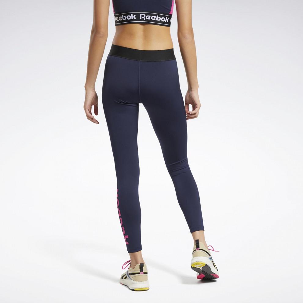 Reebok Sport Training Essentials Linera Logo Tights Γυναικείο Κολάν