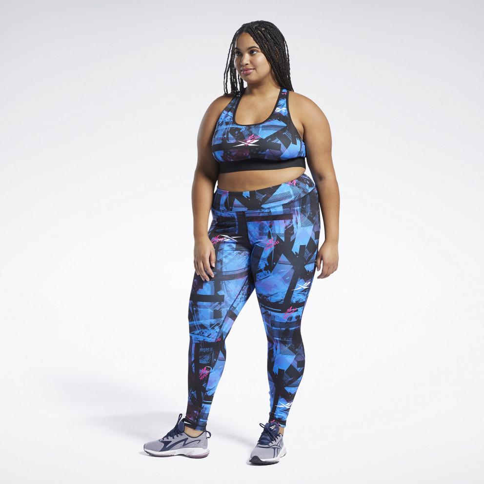 Reebok Sport Workout Ready MYT Printed Tights Γυναικείο Κολάν