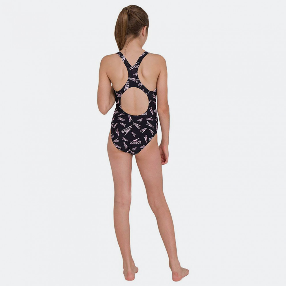 Speedo Printed Medalist Kid's Overall Swimsuit