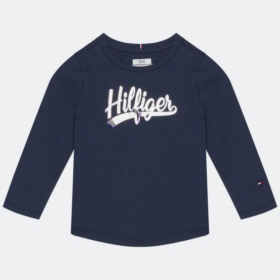 Tommy Jeans Script Παιδική Μακρυμάνικη Μπλούζα