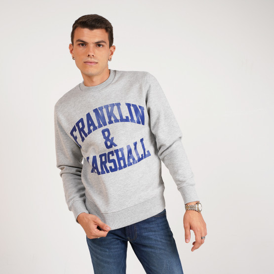 Franklin & Marshall Brushed Fleece Men's Sweatshirt