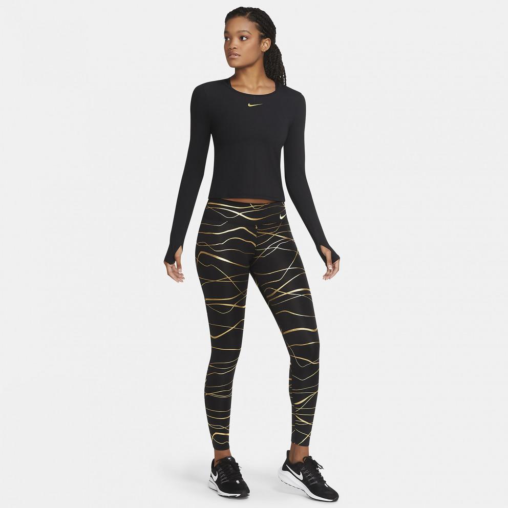 Nike Γυναικεία Μακρυμάνικη Μπλούζα για Τρέξιμο