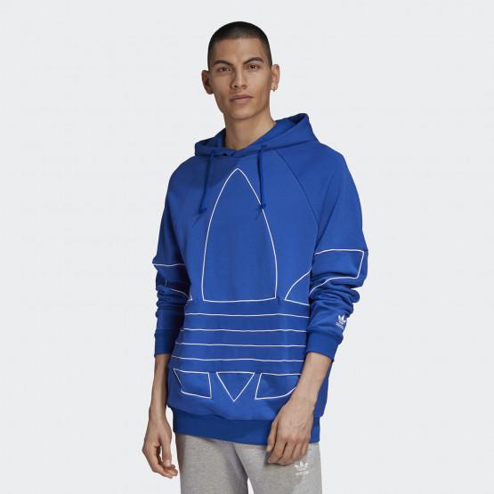 adidas Originals Bit Trefoil Outline Ανδρική Μπλούζα με Κουκούλα