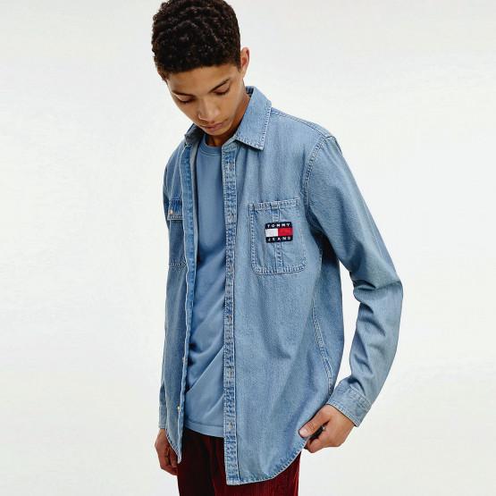 Tommy Jeans Denim Badge Shirt