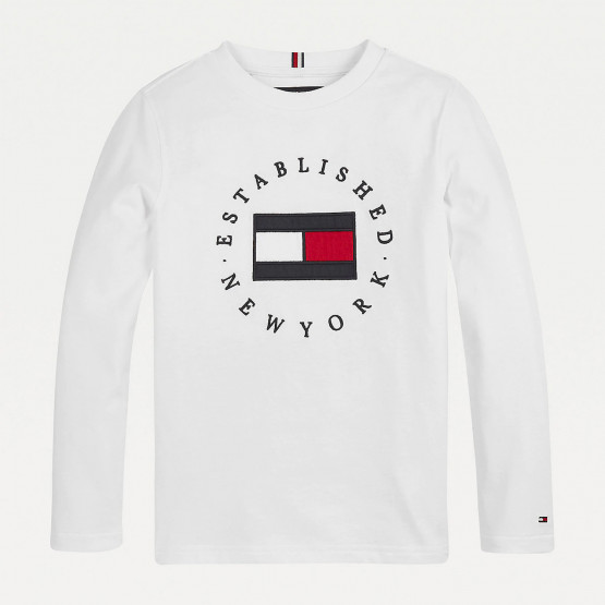 Tommy Jeans Heritage Logo Kids' Long Sleeve Tee