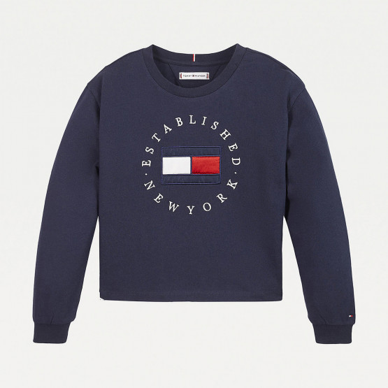 Tommy Jeans Heritage Kids' Long Sleeve Tee