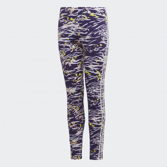 adidas Originals Allover Print Leggings Παιδικό Κολάν